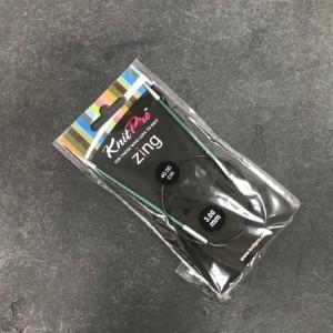 Спицы круговые Zing 5 мм - леска 80 см
