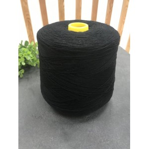 Пряжа шерсть ягненка Lambswool 14262 (черная)