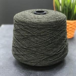 Пряжа шерсть ягненка Lambswool 13097 (темный хаки)