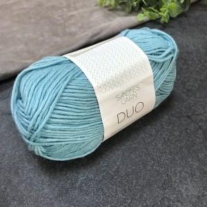 пряжа Sandnes Garn DUO 6841 (ярко-голубая)