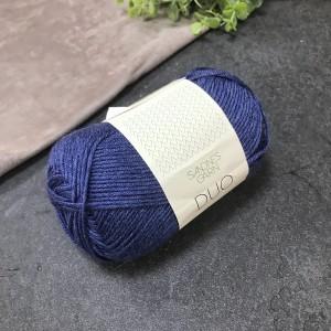 пряжа Sandnes Garn DUO 5864 ( синий меланж)