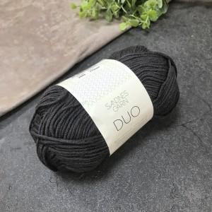 пряжа Sandnes Garn DUO 1099 ( черная)