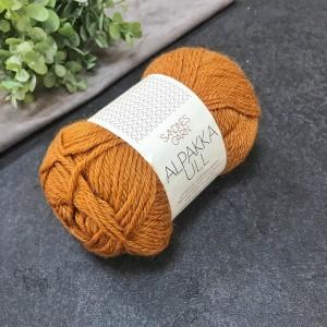 Пряжа Sandnes Garn Alpaca Ull 2355 (рыжая)