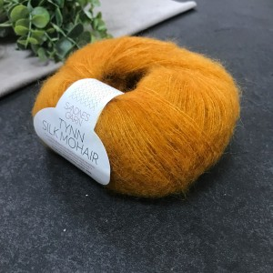 Пряжа Tynn Silk Mohair Sandnes Garn 2727 (оранжевая)
