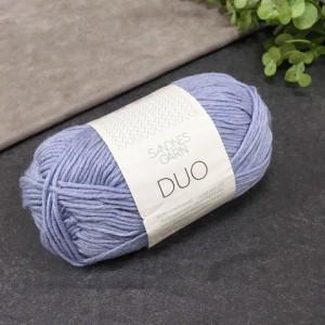 пряжа Sandnes Garn DUO 6032 (голубо-серая)