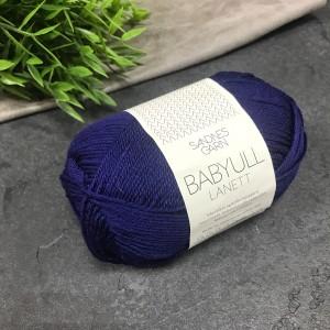 Пряжа Sandnes Garn BABYULL LANETT 5575 (синяя)