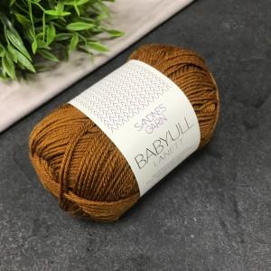 Пряжа Sandnes Garn BABYULL LANETT 2755 (рыже-коричневый)