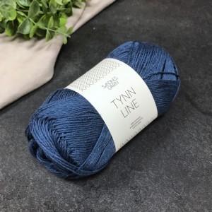 пряжа Sandnes Garn Tynn Line 6364 (синий)