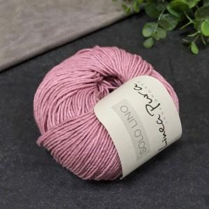 Пряжа Lana Grossa Solo Lino 003 (розовая)