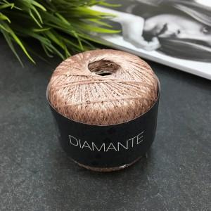 Пряжа Lana Grossa DIAMANTÉ 002 (розовое вино)