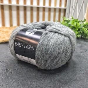 Baby Light Lana Grossa 012 (серый меланж)