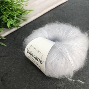 Пряжа Lana Gatto Silk Mohair 6033 (сталь)