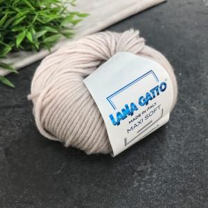 Пряжа Lana Gatto Maxi Soft 13701 (беж)