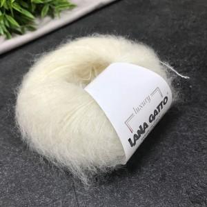 Пряжа Lana Gatto Silk Mohair 6028 (сливки)