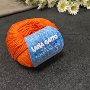 Пряжа Lana Gatto NUOVO JAIPUR 08656 (кирпич)