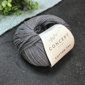 Пряжа Katia by Concept Cotton Yak 113 (серая)