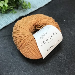 Пряжа Katia by Concept Cotton Yak 117 (персик)
