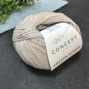 Пряжа Katia by Concept Cotton Alpaca 82 (беж)