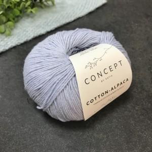 Пряжа Katia by Concept Cotton Alpaca 92 (джинс)