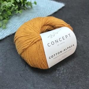 Пряжа Katia by Concept Cotton Alpaca 98 (корица)