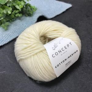 Пряжа Katia by Concept Cotton-Merino 100 (молоко)