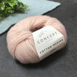 Пряжа Katia by Concept Cotton-Merino 103 (розовая)