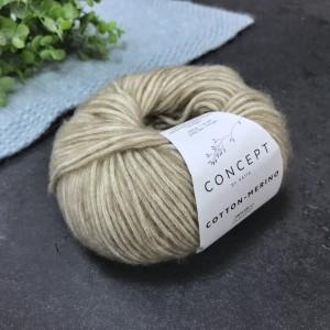 Пряжа Katia by Concept Cotton-Merino 104 (беж)