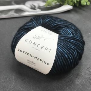 Пряжа Katia by Concept Cotton-Merino 055 (ультрамарин)