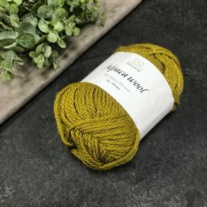 Пряжа Infinity Design Alpaca Wool 2035 (горчичная)