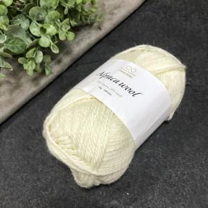 Пряжа Infinity Design Alpaca Wool 1001 (белая)