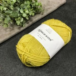 Пряжа Infinity Design Alpaca Wool 2015 (светло-горчичная)