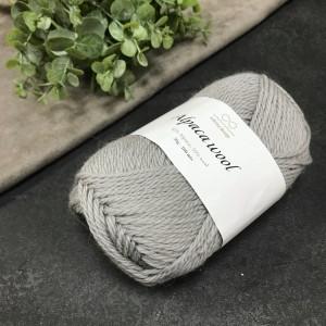 Пряжа Infinity Design Alpaca Wool 1042 (светло-серая)