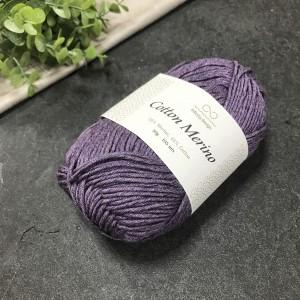пряжа Infinity Design Cotton Merino 5042 (виноград)