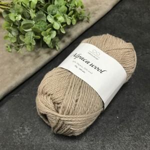 Пряжа Infinity Design Alpaca Wool 2650 (бежевая)