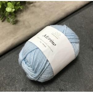 Пряжа Merino Infinity Design 6511 (голубой)