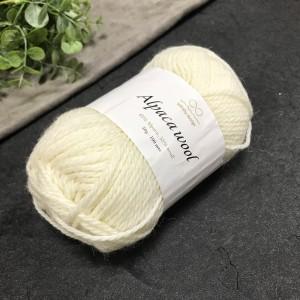 Пряжа Infinity Design Alpaca Wool 1002 (молочная)
