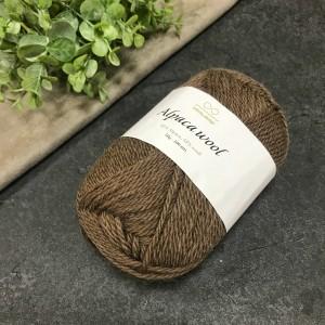 Пряжа Infinity Design Alpaca Wool 3161 (коричневая)