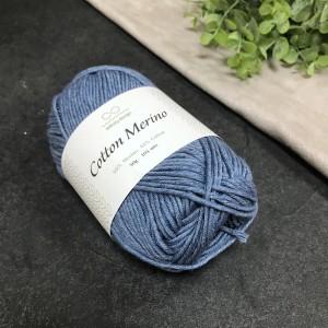 пряжа Infinity Design Cotton Merino 6033 (джинс)