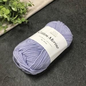 пряжа Infinity Design Cotton Merino 5930 (голубая)