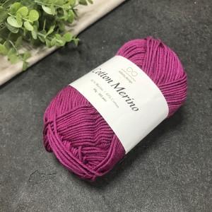 пряжа Infinity Design Cotton Merino 4627 (малиновая)