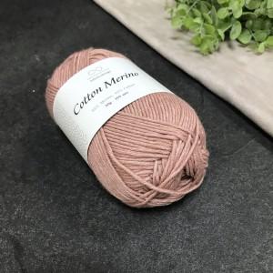 пряжа Infinity Design Cotton Merino 4032 (пыльная роза)