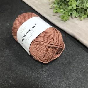 пряжа Infinity Design Cotton Merino 3543 (коричневая)
