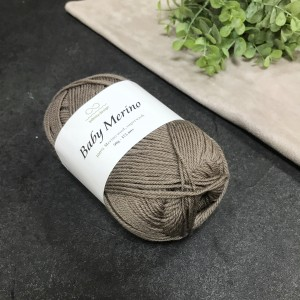 Пряжа Infinity Design Baby Merino 3161 (коричневая)