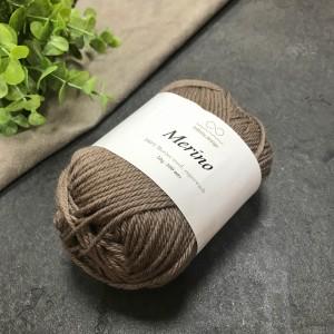 Пряжа Merino Infinity Design 2652 (светло-коричневый)