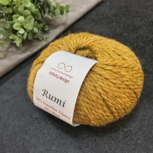 Пряжа Infinity Design Rumi 0989 (горчица)