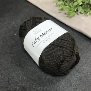 Пряжа Infinity Design Baby Merino 3081 (темно-коричневая)