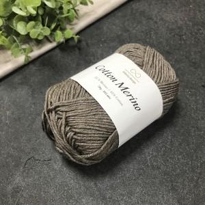 пряжа Infinity Design Cotton Merino 2652 (темно-бежевая)