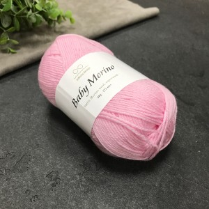 Пряжа Infinity Design Baby Merino 4301 (розовая)