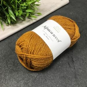 Пряжа Infinity Design Alpaca Wool 2355 (рыже-коричневый)