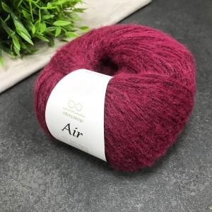 Пряжа Infinity Design AIR 4554 (красное вино)